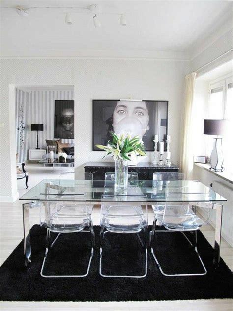 table cuisine en verre les tables basses en verre idéales en 47 photos