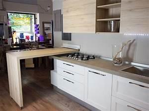 cucina moderna shabby con penisola in offerta convenienza