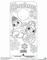 Hatchimals Coloring Printable Hatchimal Twins Minnesota Hatchy Template Colouring Birthday Penguin Baseball Getcolorings Mermaid Tiger sketch template