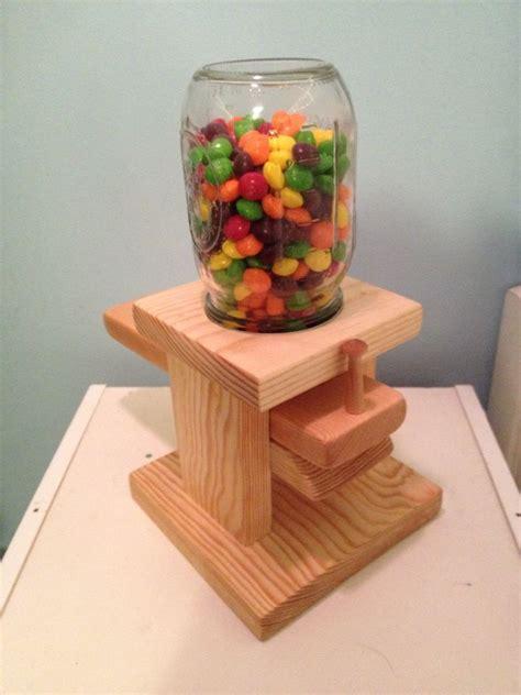 homemade gumball machine    skittles  mms