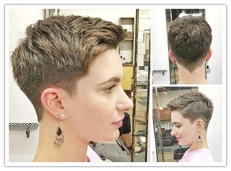 Pixie Haircut, Halsey Short