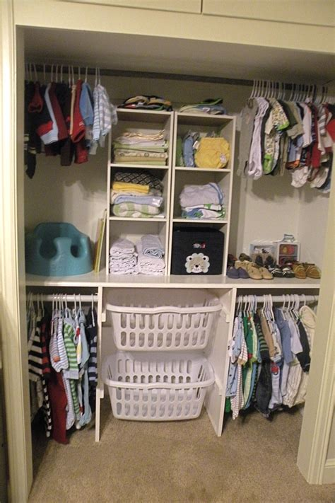 clothes organization baby closet how to around the farmhouse table Diy