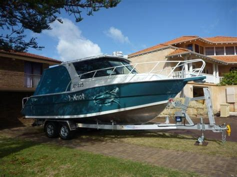 Aluminium Fishing Boats For Sale Perth by New Craft 8m Thunderbolt Power Boats Boats