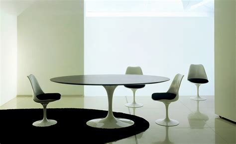 saarinen dining table black granite hivemoderncom