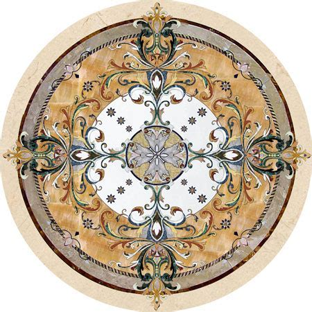 Stone Medallions, Model: Geneva   Custom Wood, Stone