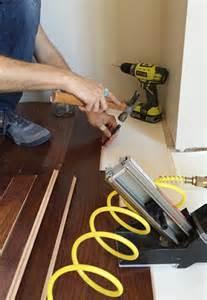 how to install hardwood flooring house