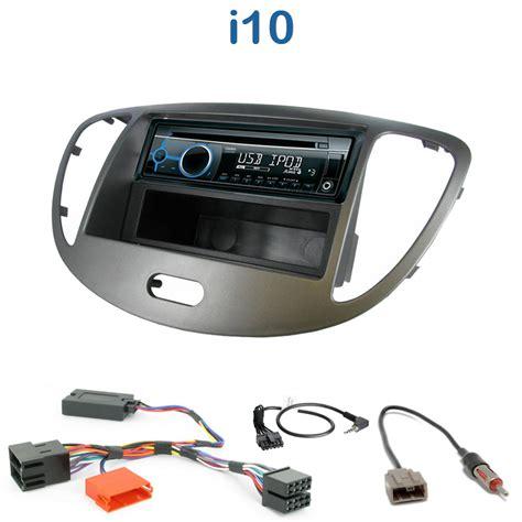 poste cd usb autoradio 1 din hyundai i10 avec cd usb mp3 bluetooth