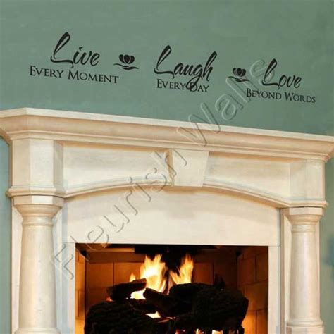 Free delivery on your first order of items shipped by amazon. Live+Laugh+Love+Wall+Decal++Vinyl+Wall+Quote+by+FleurishWalls,+$24.95 | Vinyl wall decals, Vinyl ...