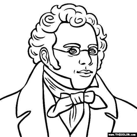 famous historical figure coloring pages page