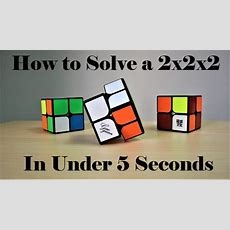 How To Solve A 2x2 Rubik's Cube Using Ortega!! Crazy Fast Method!! Youtube