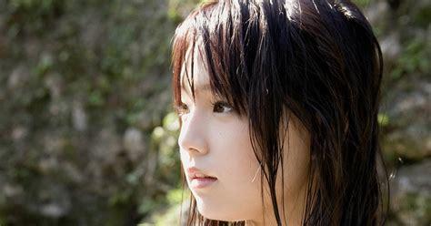 ai shinozaki photo white shirt at the river part 1
