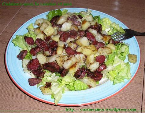 cuisiner les gesiers le plaisir de cuisiner salade de gésiers et chignons
