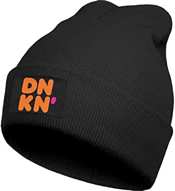 Mockup of a barista wearing an apron while serving a drink. Unisex Dunkin-Donuts-Coffee-Logo- Beanie Hat Cuffed Plain Knit Hat Cap at Amazon Men's Clothing ...