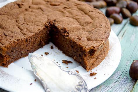 Maronen-schokoladen-kuchen (ohne Mehl)