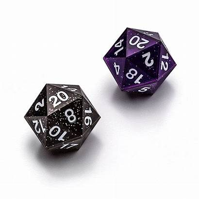 Critical D20 Hit D20s Roll Galaxy Dice