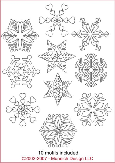 Cetakan Salju Frozen Stencil snow flakes pattern