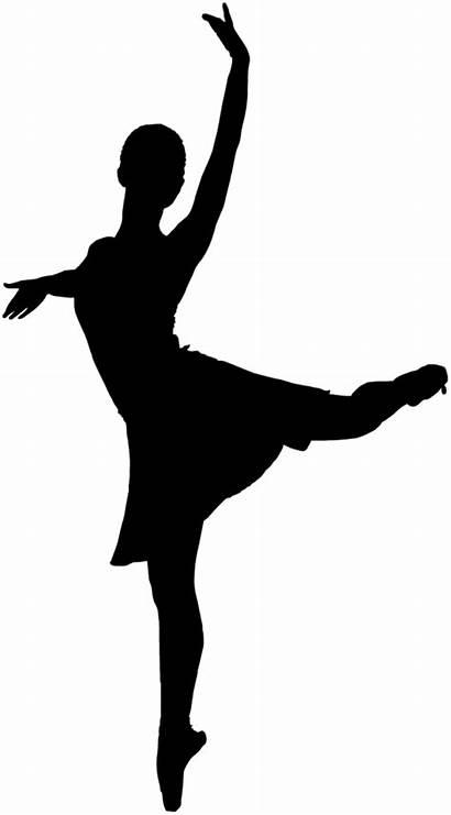 Ballerina Silhouette Arm Mod Sagoma Classica Danza