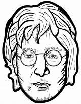 Coloring Colorare John Personaggi Disegni Lennon Rock Famosi Printable Pagine Storici Supercoloring Stilizzati Ritratti Onlinecoloringpages Famous Portrait Sheet sketch template
