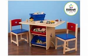 Table Enfant Avec Rangement : table et 2 chaises pour enfants en bois avec rangements decome store ~ Melissatoandfro.com Idées de Décoration