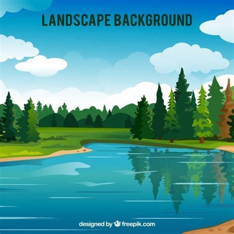 foto de Baixe Grande Fundo Floresta Lago gratuitamente em 2020