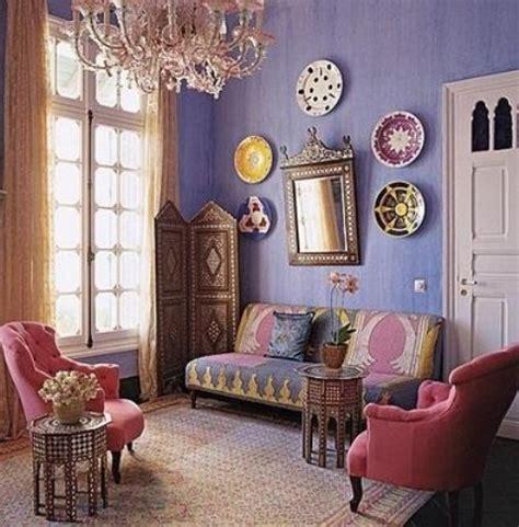 Moroccan Living Room  Interior Design Ideas