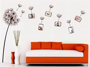 Wandtattoo Mit Bilderrahmen : das wandtattoo fotorahmen pusteblume im wind bei ~ Bigdaddyawards.com Haus und Dekorationen