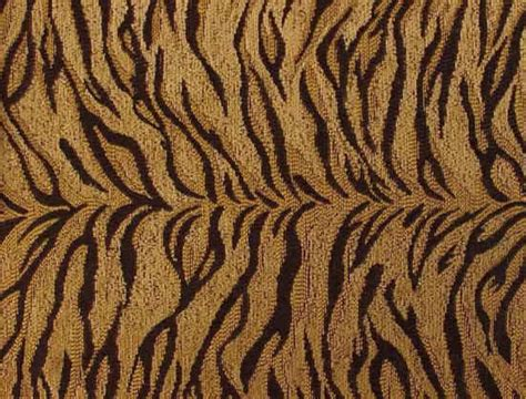 Tiger / Cat Fabric By The Yard