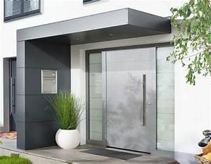 Moderne Hausfassaden Fotos : vordach f r haust ren von siebau ideen rund ums haus pinterest ~ Orissabook.com Haus und Dekorationen