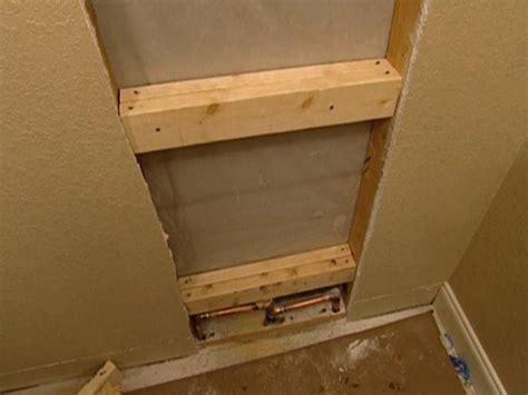 install  multi head shower securing shower system