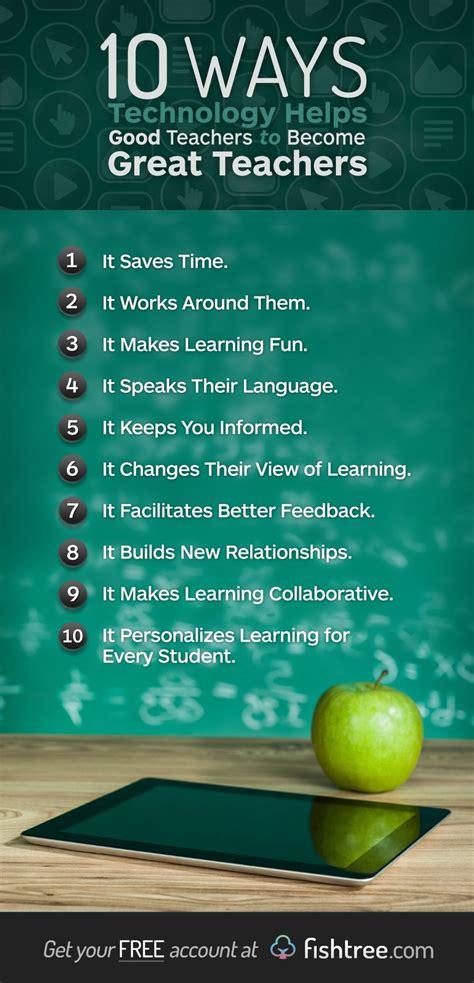 ways technology helps good teachers   great