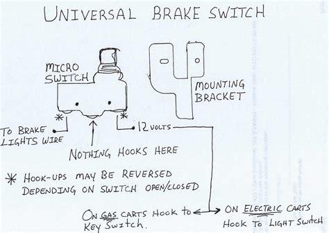 Universal Brake Switch Everything Carts