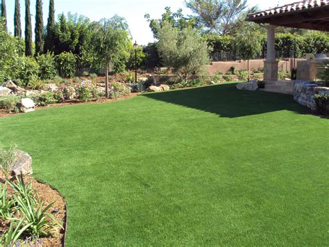 In The Backyard by Synthetic Grass Escondido Synthetic Backyard Putting Greens