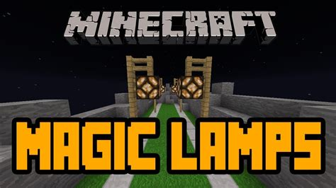 minecraft magic redstone l and magic street light