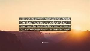 Leonardo da Vin... Power Of Vision Quotes