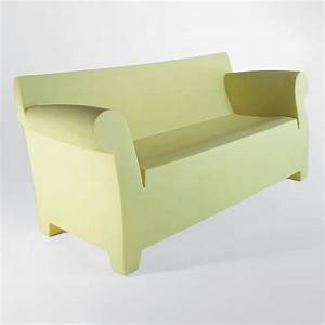 kartell bubble club sofa contemporary sofa plastic With plastic furniture for living room