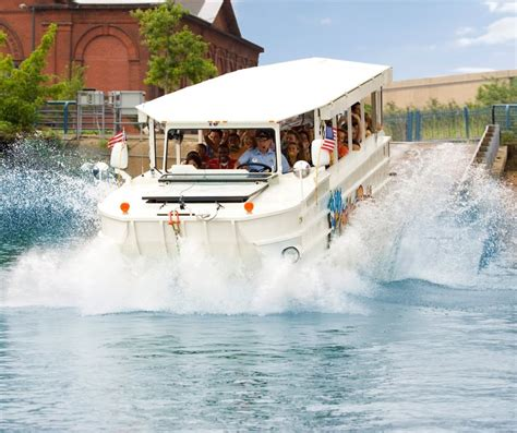 Duck Boat In Water by Duck Tours Are Splashing Soon At Battleship Park Press