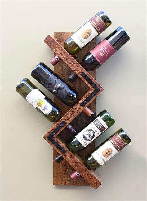 wine rack portabottiglie vino fai da te 25 modelli semplici da