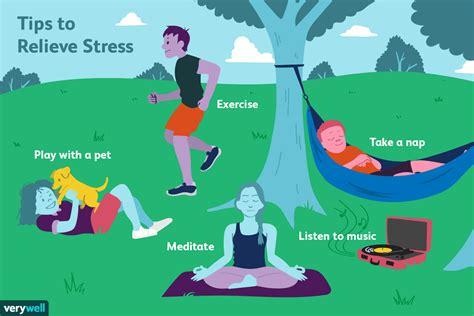 stress relievers  ways  reduce stress