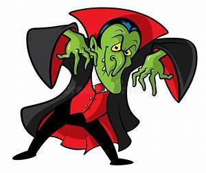 Dracula Vampire Cartoon Illustration Stock Vector ...