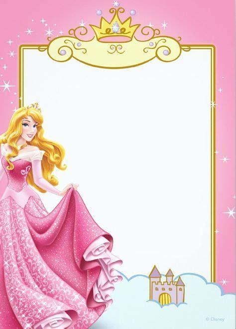 printable princess invitation templates  imagens