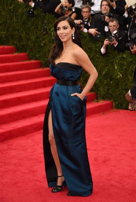 kim kardashian wearing givenchy couch dress  met costume institute gala