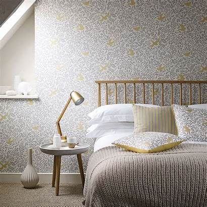 Larksong Sanderson Wall Wallpapers Bedroom Feature Which