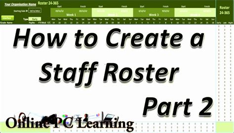 staff rota excel template excel templates excel