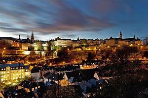 Luxembourg-city by night © Alf Jacoby | Luxembourg-city ...
