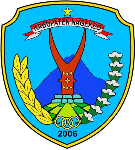 logo kabupaten kota logo kabupaten nagekeo nusa