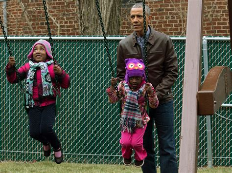 The Obamas Wistfully Visit 'Malia and Sasha's Castle ...