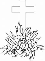 Coloring Pages Cross Printable Easter Crosses Drawing Printables Sheets Flowers Bestcoloringpagesforkids Flower Christian Getcoloringpages Getdrawings Popular sketch template