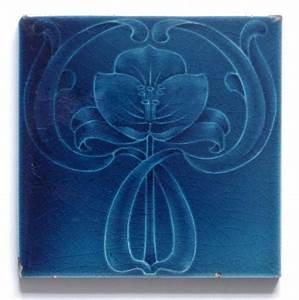 Art Et Carrelage : antique art nouveau tile c1905 art nouveau art d co art ~ Melissatoandfro.com Idées de Décoration