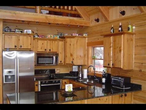 cabin style kitchen cabinets log cabin kitchen cabinets