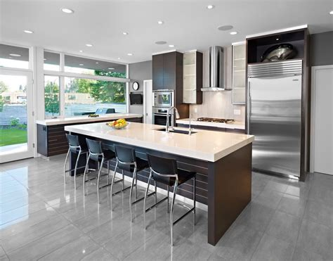 cuisines ouvertes sur salon cuisine cuisine ouverte sur salon avec marron couleur cuisine ouverte sur salon idees de couleur